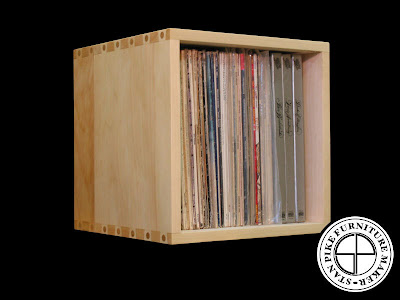 record storage cube