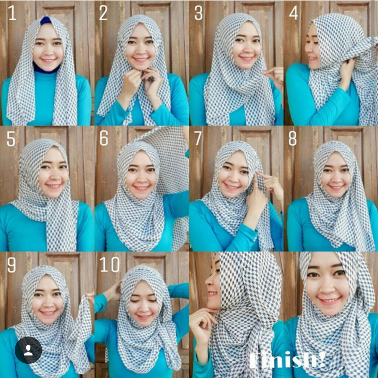 Miss Silvi FASHION CASING JMOA Tutorial Kerudung Pashmina