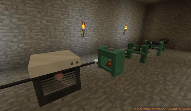 Imagen 1 del Electrical Age Mod para Minecraft 1.7.2/1.7.10