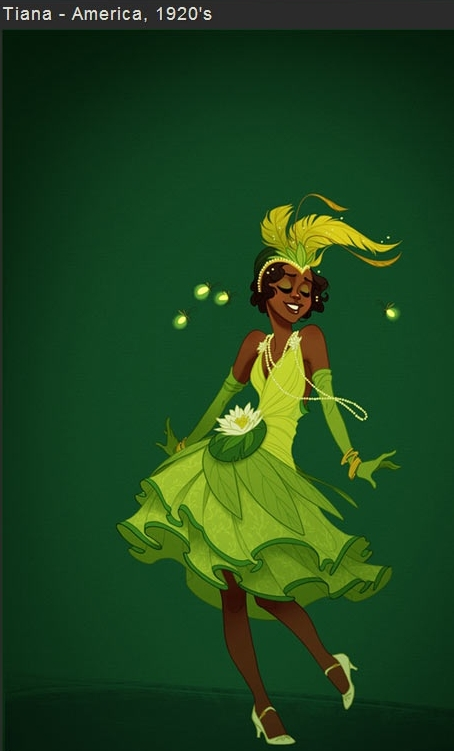 Tiana filmprincesses.blogspot.com
