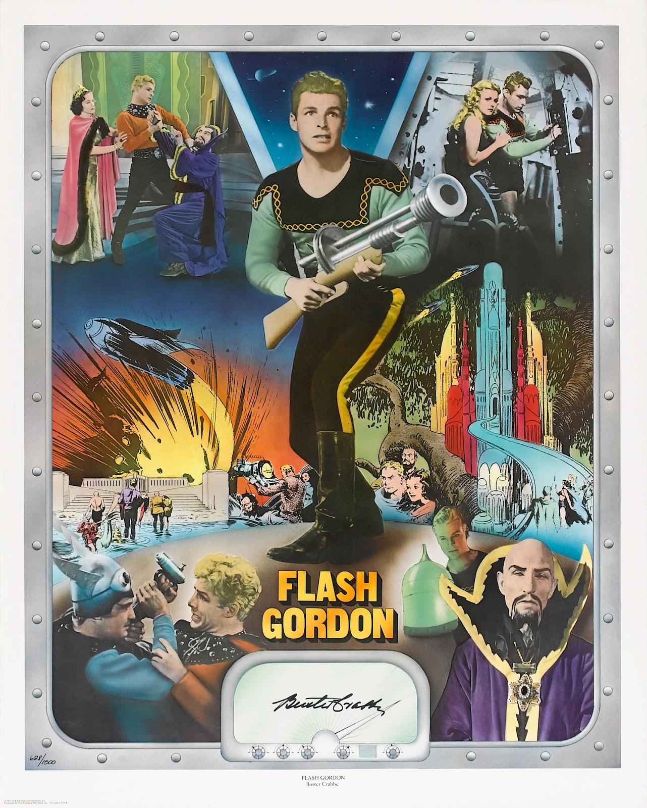 Flash gordon movie poster shop