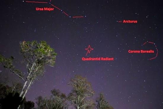 GALERI: Foto-foto Hujan Meteor Quadrantid 2014