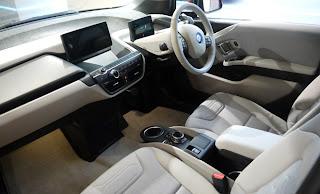 BMW i3 front interior