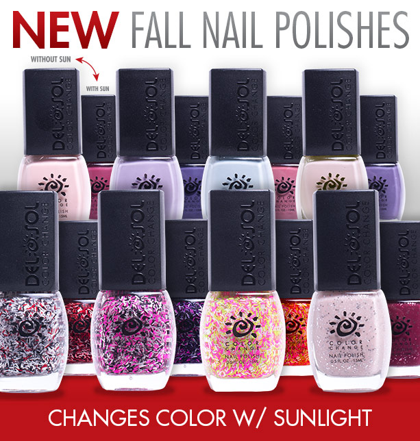 Color-Changing Nail Polish by Del Sol Giveaway