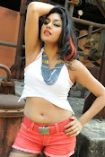 Akshida Hot Photos from Yuddam Movie Song shooting spot-thumbnail-11