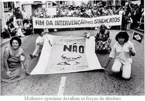 Mulheres em luta por liberdade sindical