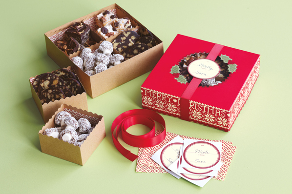 Christmas Treat Box  Chic n Scratch