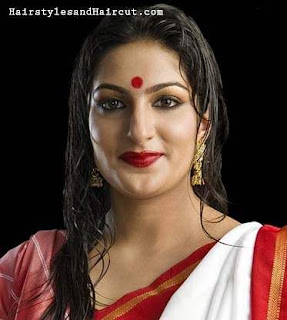 Hairstyles for Durga puja