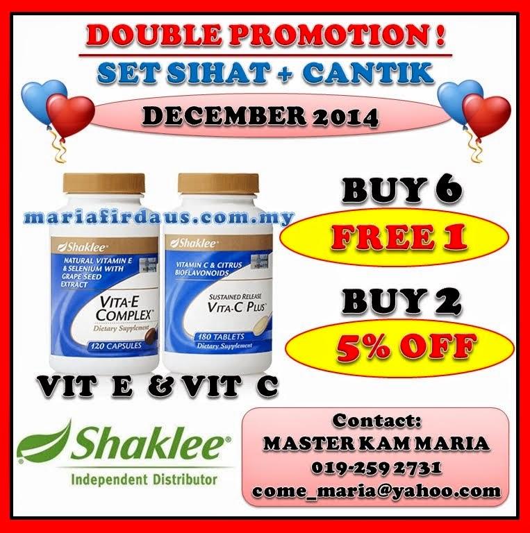 Promotion Dec 2014!!