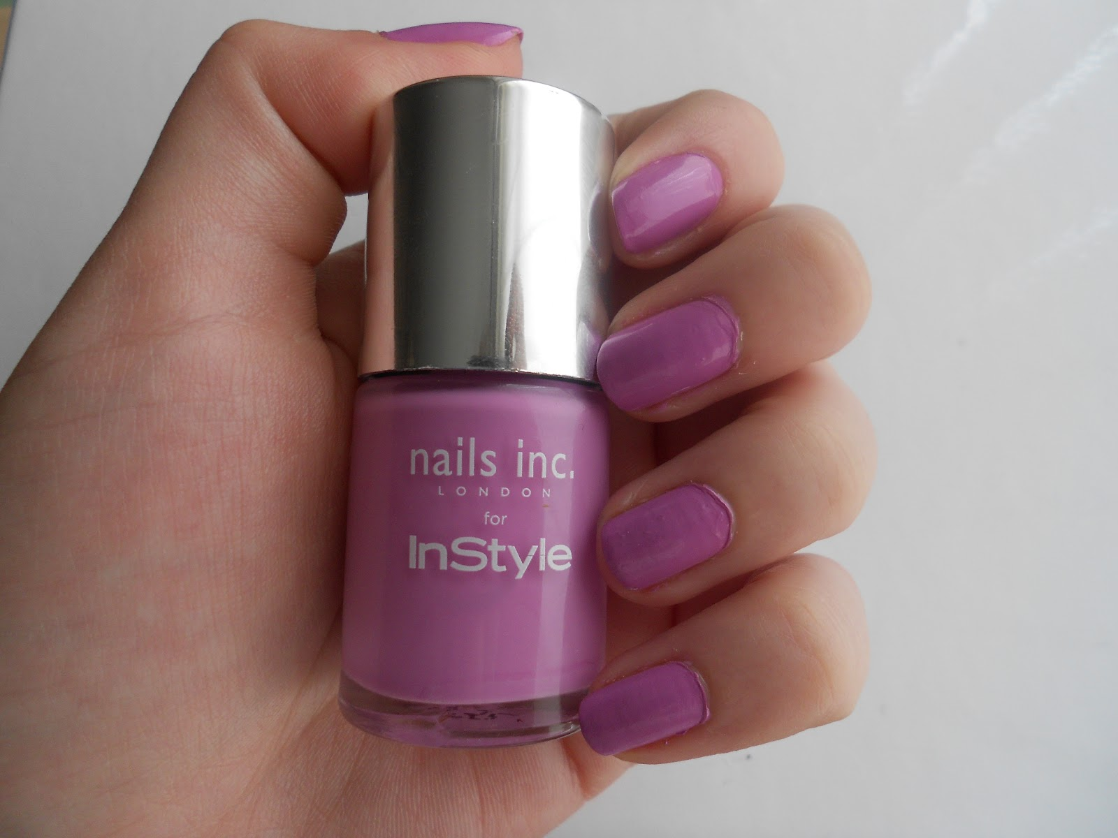 the2BEAUTYBLOGGERS: NOTD Nails Inc Instyle Power Pink Free Nail ...