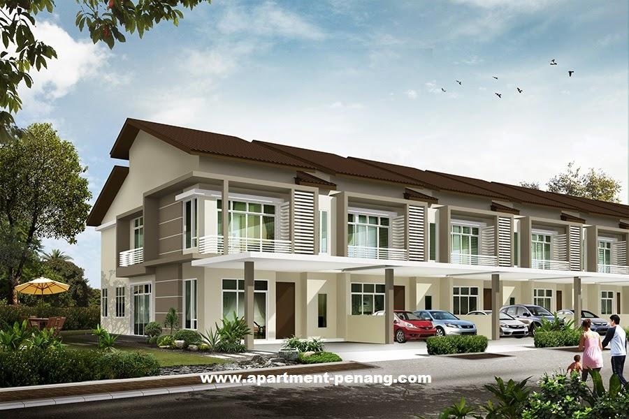 Hillpark residences apartment for Terrace 9 classic penang