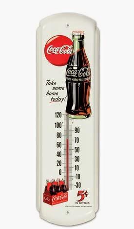 Termômetro da Coca-Cola