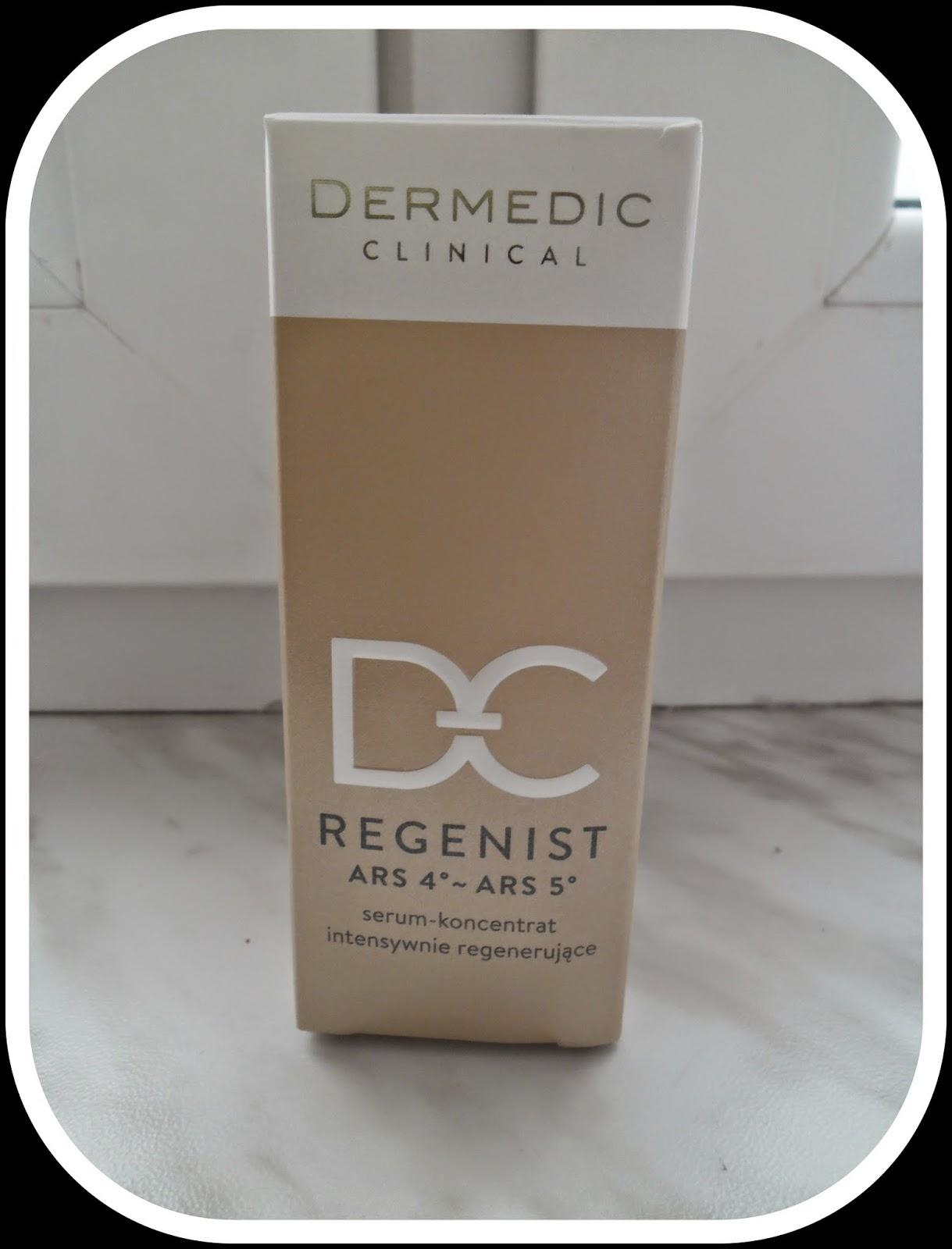 Serum-koncentrat intenywnie regenerujące ARS 4°~ARS 5° Dermedic- recenzja