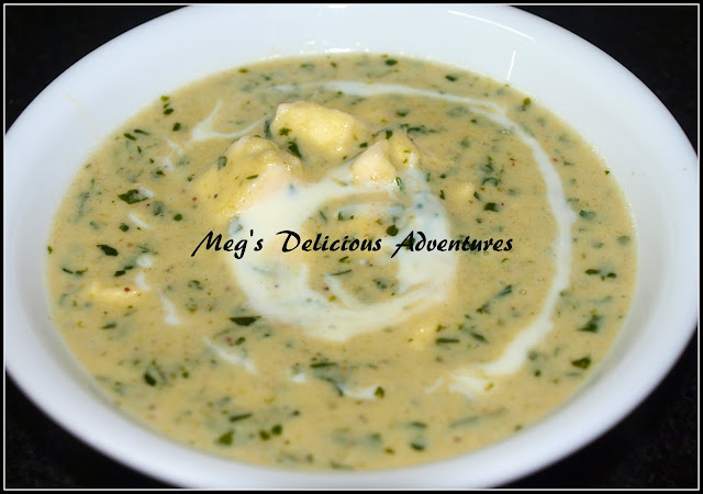 Methi Malai Paneer (Creamy Fengreek leaves with cottage cheese)