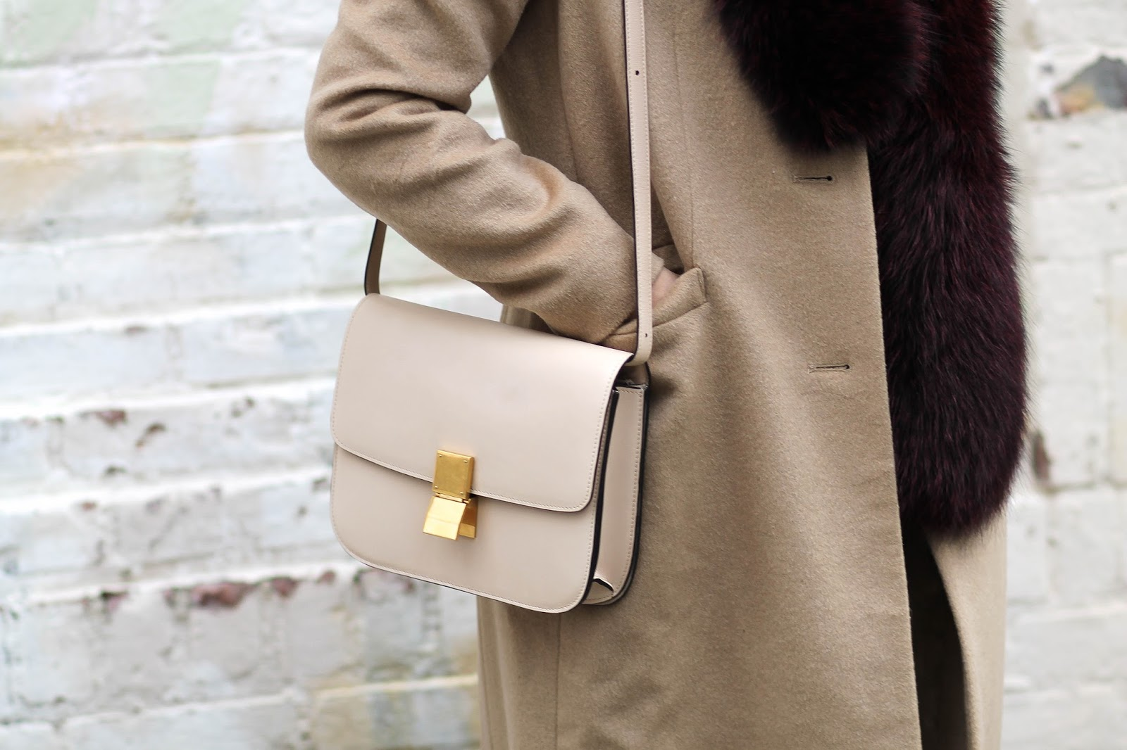 celine ivory box bag