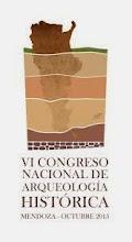 VI Congreso Nacional de Arqueología Histórica