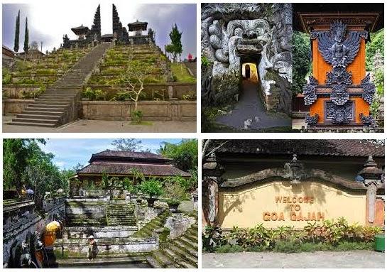 Wisata Pura Goa Gajah di Bali