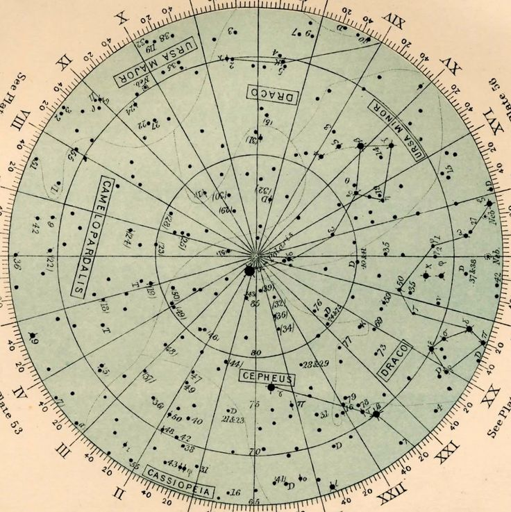 Metropolitan Musings Astrology And Star Charts