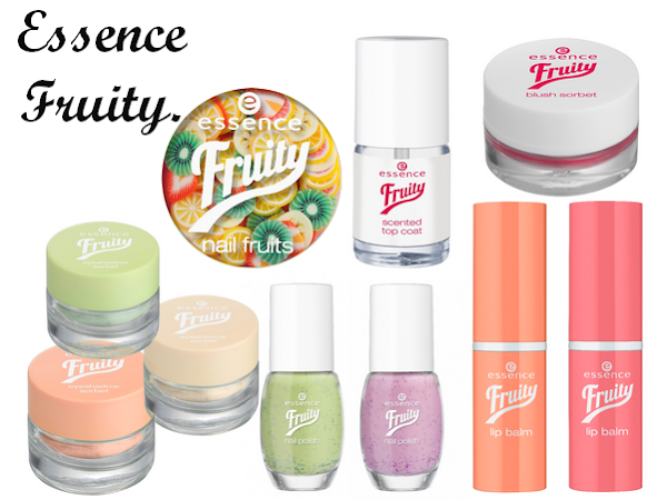 Essence Fruity Collectie.
