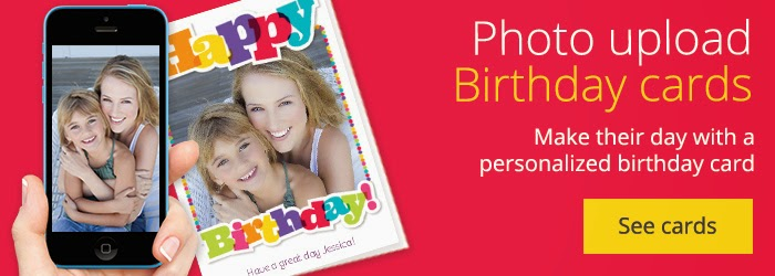personalized birthday cards  slim image, Birthday card