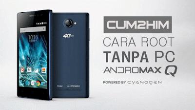 Cara Root Smartfren Andromax Q G36C1H 4G Lte Tanpa PC