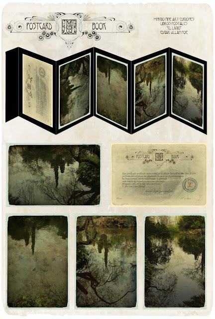 postcard, Edgar allan poe, ediciones, lopez moral, Libro de artista, photobook, ventas de fotografia, book, badges, arte contemporaneo
