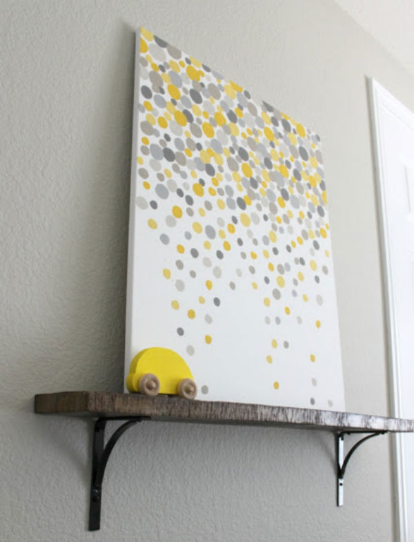 Affordable Diy Wall Decor : Cheap paintings for home painting ideas