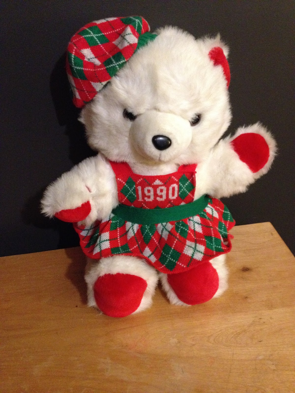 The Teddy Bear Shelter: KMART HOLIDAY CHRISTMAS BEARS! PAST YEARS