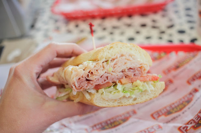The Hook and Ladder Sub from Firehouse Subs
