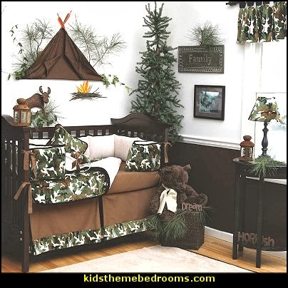 Decorating theme bedrooms maries manor baby bedrooms for Cabin themed nursery