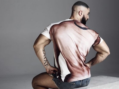 Francois Sagat by Philip Riches for Portis Wasp