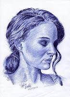 Ballpoint Pen Portraits1