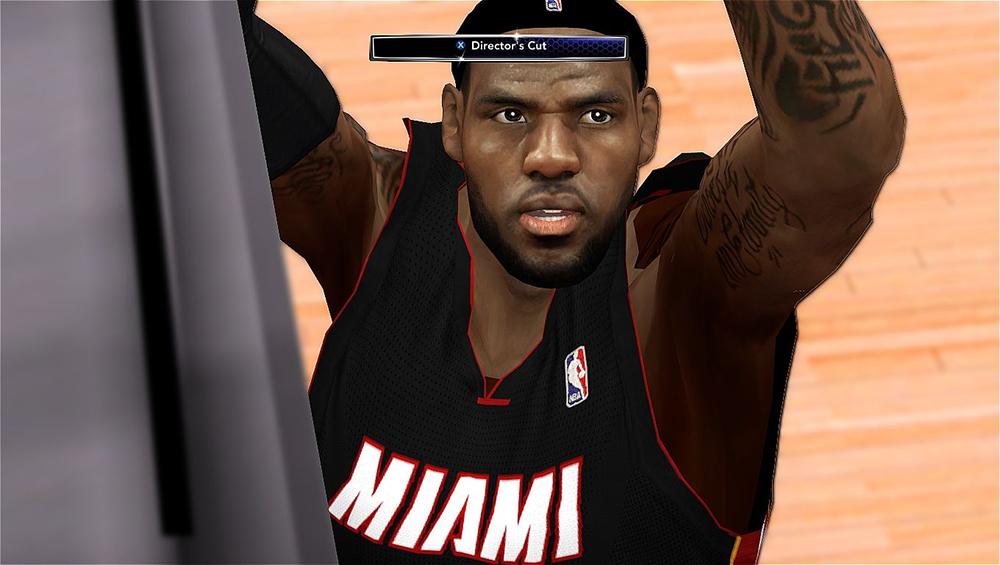 Realistic LeBron Face NBA 2K14
