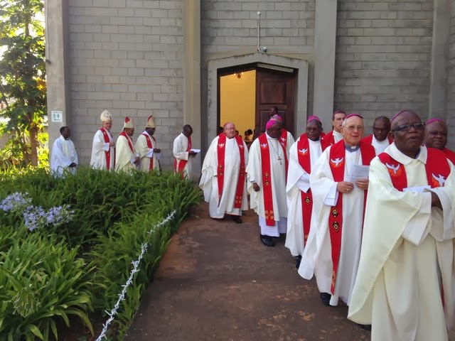 """SACBC Bishops welcomed in Swaziland: """"Feel at home"""""""