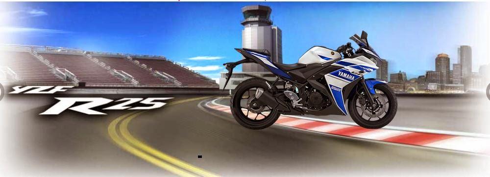Yamaha R15 dan Yamaha R25 Motor Sport Racing dan Kencang 2014