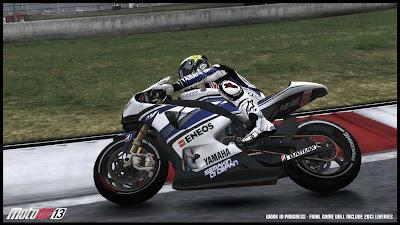 Mike racing