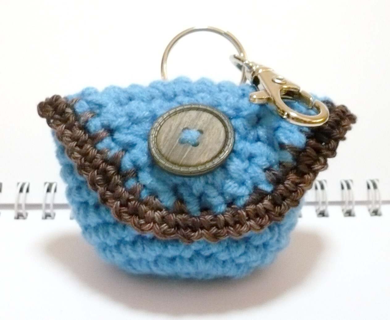 Nicely created for you crochet pattern small purse with flap crochet pattern small purse with flap cover and clasp bankloansurffo Gallery