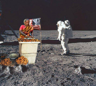 We also get Special Indian Wadas, Pakodas & Masala Dosas in Space