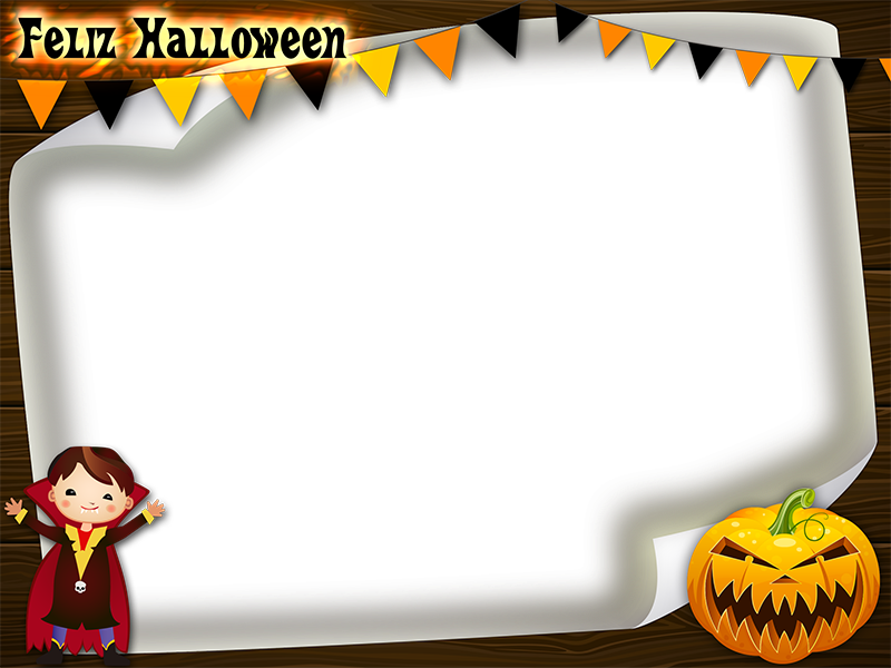 muestra marco png fotos halloween ni os png