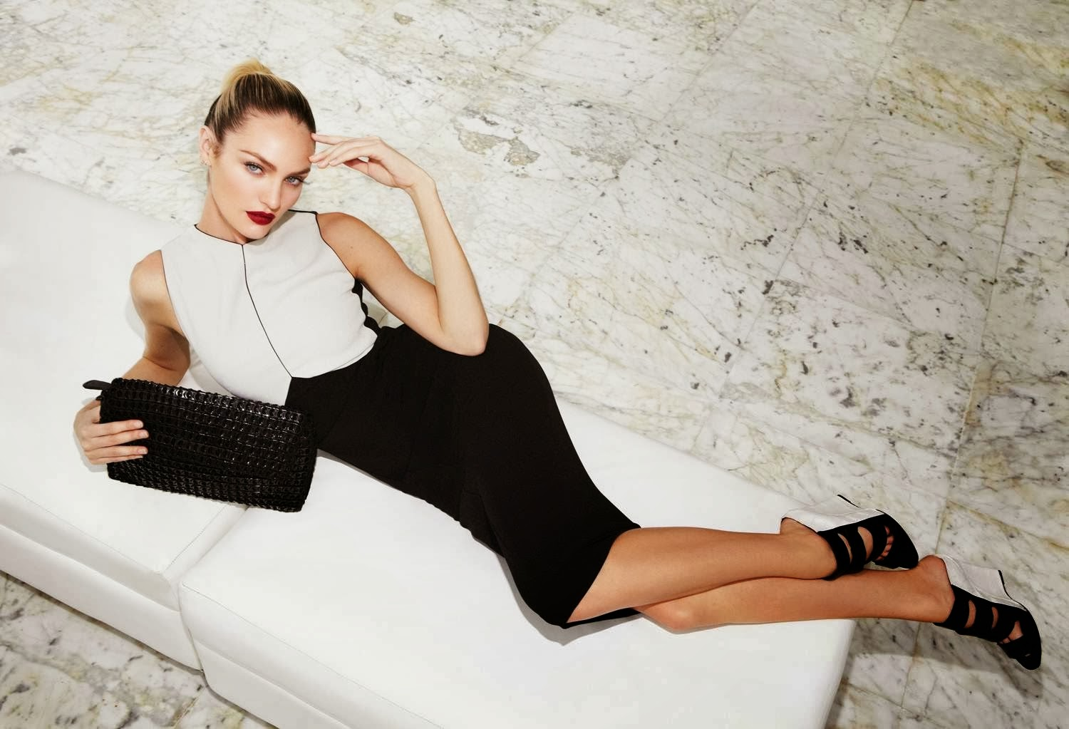 Candice Swanepoel for Bottletop Winter 2014