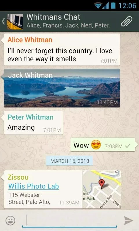 WhatsApp Messenger v2.11.487