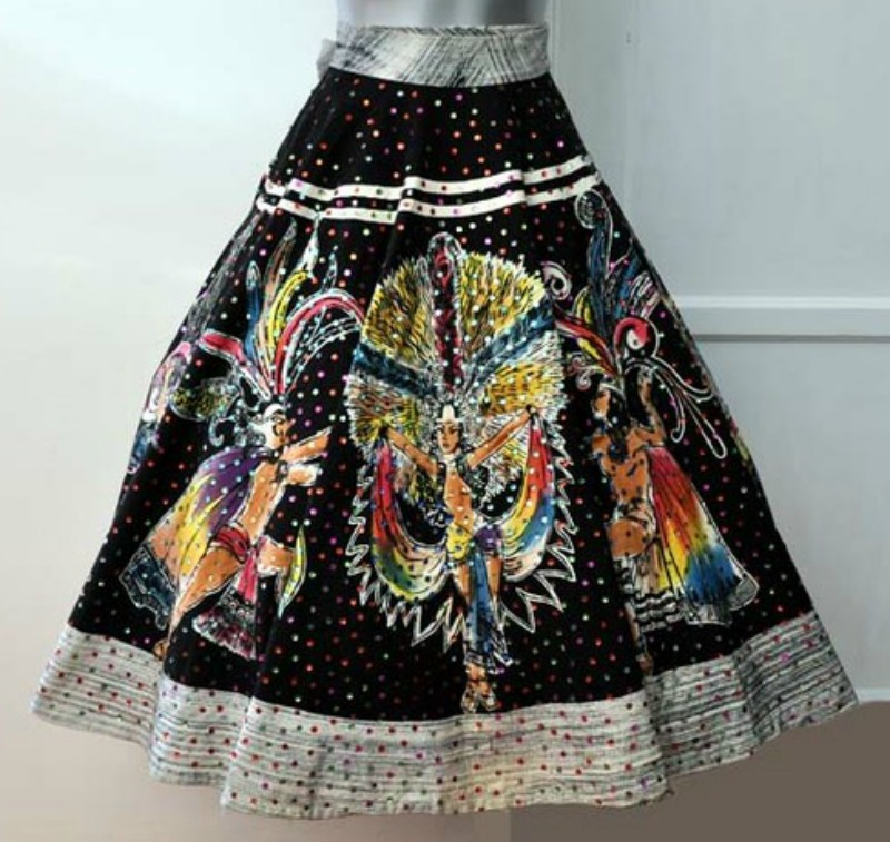 Vintage Mexican Skirt 2