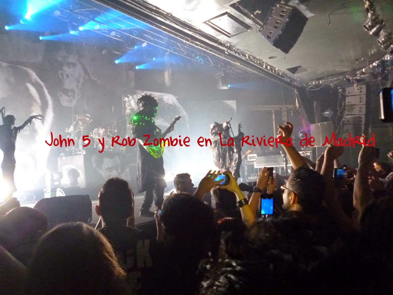 John 5 y Rob Zombie, Madrid