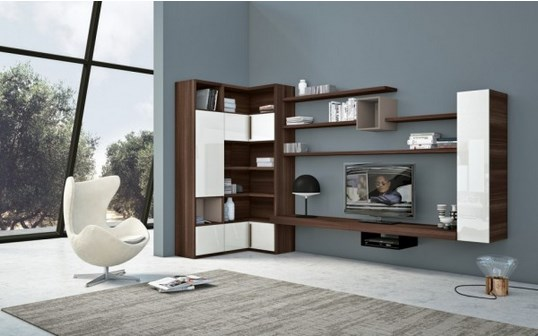 Inspiring wall unit with storage chapter 5 inspiring for Furniture 4 less outlet