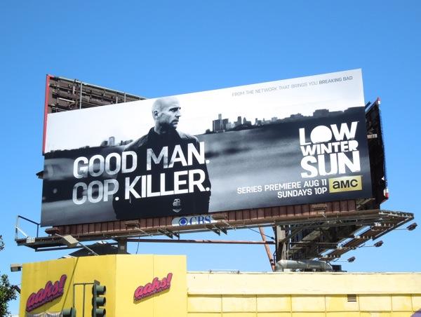 Low Winter Sun billboard