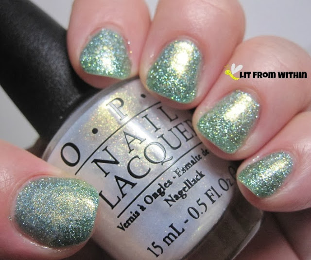 OPI Ski Slope Sweetie from the Mariah Carey holiday collection