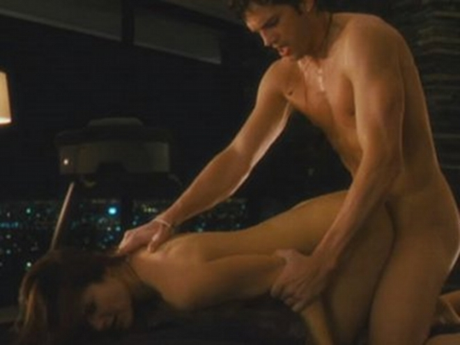 Ashton kutcher sex scene