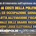 """Sondaggio politico di Demopolis per """"Otto e Mezzo"""" per gli italiani i tagli ai costi della politica sono una priorità"""