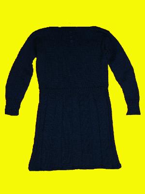 rochie handmade tricotata manual 8 Martie