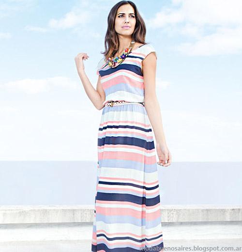 Nucleo Moda primavera verano 2014 vestidos.